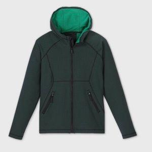 Green Woven Fleece Jacket - All in Motion